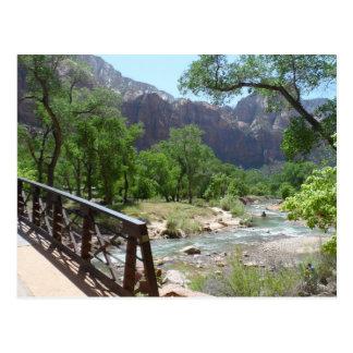 Zion Nationalpark Postkarte