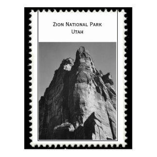 Zion Nationalpark Utah Postkarte