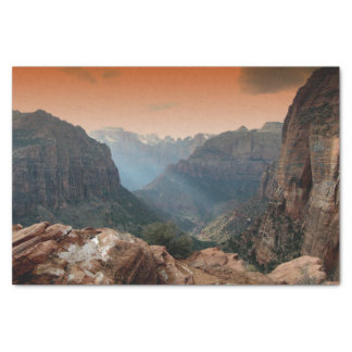 Zion Nationalpark, Utah Seidenpapier