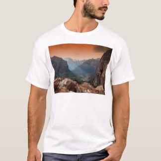 Zion Park, fantastische Naturlandschaft Utahs T-Shirt
