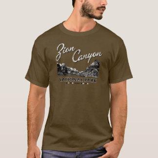 Zion Schlucht-Nationalpark-T-Stück T-Shirt