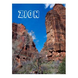 Zion Schlucht Postkarte