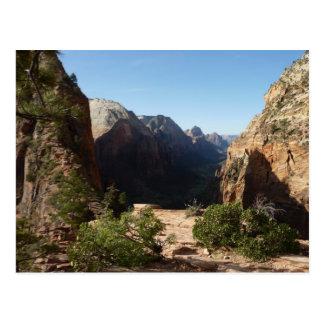 Zion von den Engeln, die HinterZion Nationalpark Postkarte