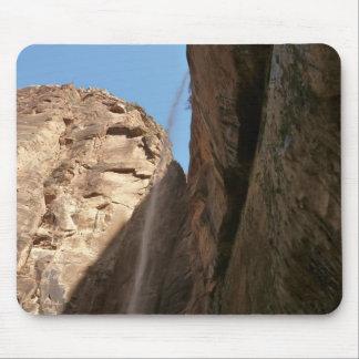 Zions weinender Felsen an Zion Nationalpark Mauspads