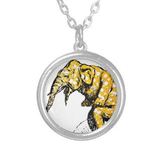 Zirkus-Elefant-Geschenke Versilberte Kette