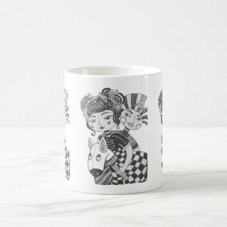 Zirkus-Mädchen-Kostüm-Party Kaffeetasse