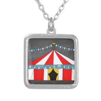 Zirkus-Party-Geschenke Versilberte Kette
