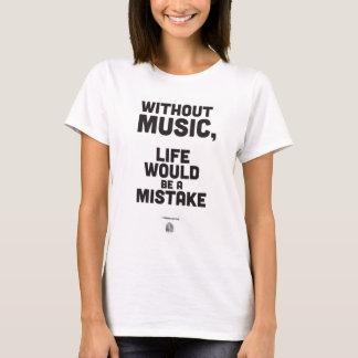 Zitat Friedrich Nietzsche - T - Shirt