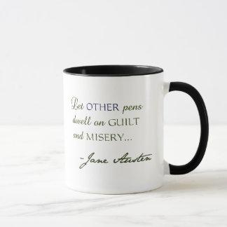 Zitat-Tasse Janes Austen Tasse