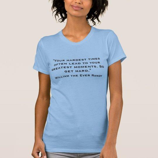 Zitat von William T-Shirt