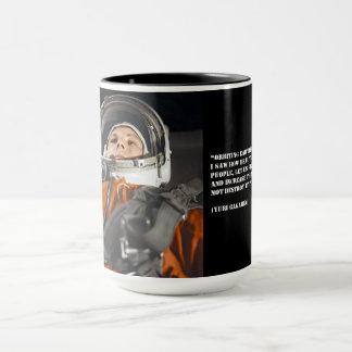 Zitat Youri Gagarine Tasse