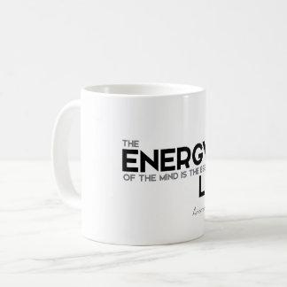 ZITATE: Aristoteles: Energie, Wesentliches Kaffeetasse