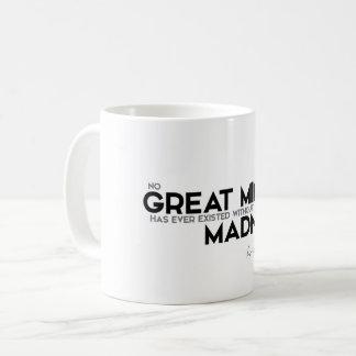 ZITATE: Aristoteles: Großer Verstand Kaffeetasse