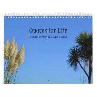 Zitate für Leben-Kalender-Wahl B Abreißkalender