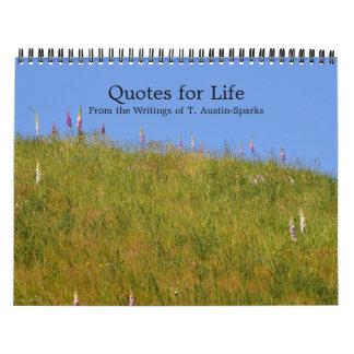 Zitate für Leben-Kalender-Wahl D Kalender
