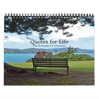 Zitate für Leben-Kalender-Wahl E Kalender