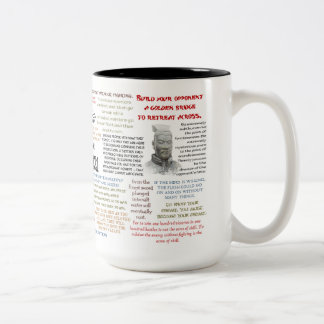 Zitierfähige Tasse Sun Tzu