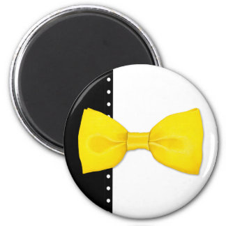 Zitrone Bowtie Magnet Magnets