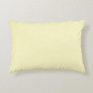 Zitronen-Chiffon- Normallack Deko Kissen