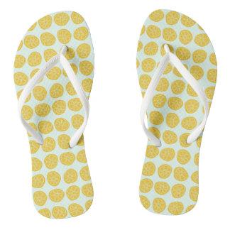 Zitronen für Tage - drehen Sie Reinfälle um Flip Flops