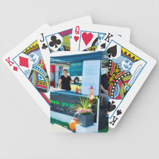 Zitronen-Gras-Grill Bahn MI Huhn Bicycle Spielkarten