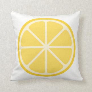 Zitronen-Kissen Kissen