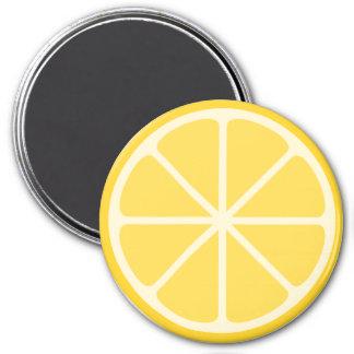 Zitronen-Magnet Runder Magnet 7,6 Cm