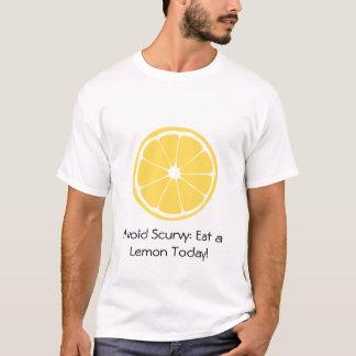 Zitronen-Scheibe: Vermeiden Sie Skorbut! T-Shirt