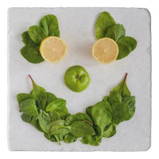 Zitronen-smiley Trivet Töpfeuntersetzer