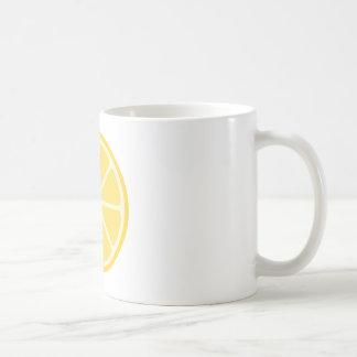 Zitronen-Tasse Kaffeetasse
