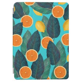 Zitronen und Orangen aquamarin iPad Air Cover