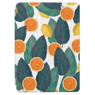 Zitronen und Orangen weiß iPad Air Hülle