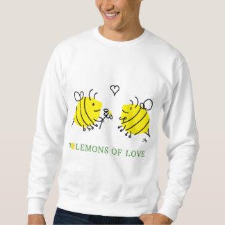 Zitronen von Liebe Lem-Bienen Sweatshirt