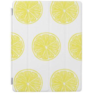 Zitronenscheibe-Musterentwurf iPad Hülle