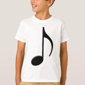 Zittern - Achtelnote-Musik-Symbol T-Shirt