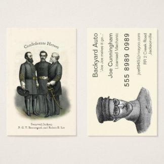 Zivile Kriegs-Held-Auto-Mechaniker-Auto-Reparatur Visitenkarte