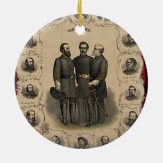 Zivile Kriegs-Helder Keramik Ornament