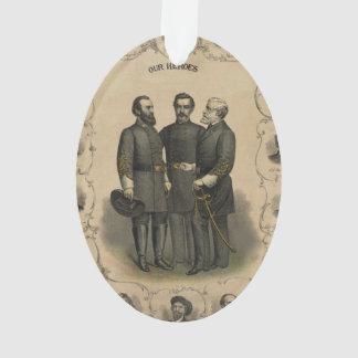 Zivile Kriegs-Helder Ornament