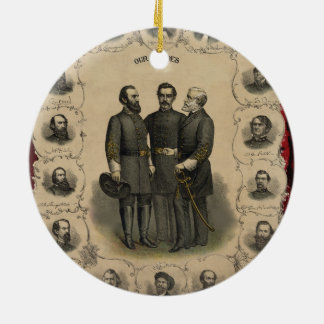 Zivile Kriegs-Helder Rundes Keramik Ornament