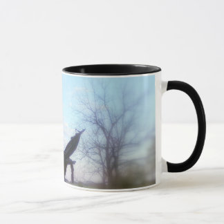 Zivile Kriegs-Statue-Tasse Tasse