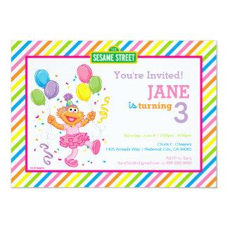 Zoe a barré l'anniversaire carton d'invitation  12,7 cm x 17,78 cm