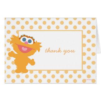 Zoe-Babyparty danken Ihnen Karte
