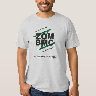 ZOM BMC, GOTISCHE SCHRIFTEN auf GRÜNEM Z, MOTTO T-shirts
