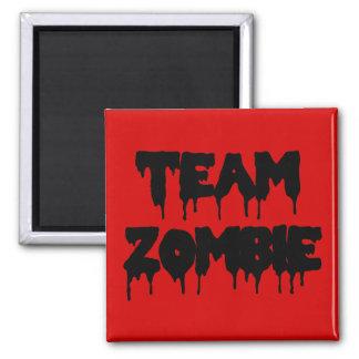 Zombi d'équipe magnet carré