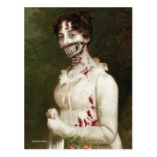 Zombie-Abdeckung Postkarte