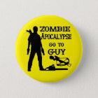 Zombie-Apokalypse gehen zum Typ (Waffen) Runder Button 5,7 Cm