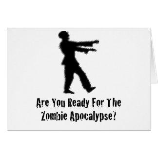 Zombie-Apokalypse Karte