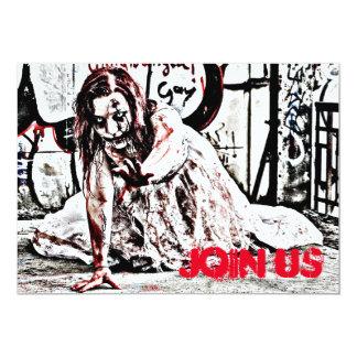 Zombie-Apokalypse-Party Einladung