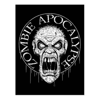 Zombie-Apokalypse-Postkarten Postkarte