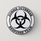 Zombie-Ausbruch-Warteteam (Biogefährdung) Runder Button 5,7 Cm